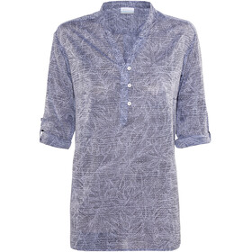 Columbia Early Tide Tunic Women bluebell tropic dot